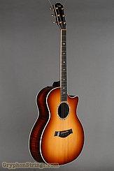 2010 Taylor Guitar Custom GA Adirondack/Figured Koa Image 2