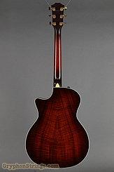 2010 Taylor Guitar Custom GA Adirondack/Figured Koa Image 5