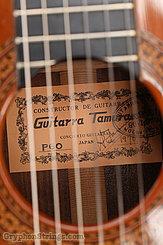 1970 Tamura Guitar P-60 Rosewood/Cedar Image 17
