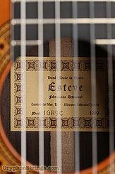 1999 Esteve Guitar 9C Image 17