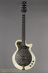 National Reso-Phonic Guitar Pioneer Chipped Ivory NEW