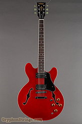 Vintage Guitar VSA500 Reissued Semi-Acoustic Cherry Red NEW Image 7