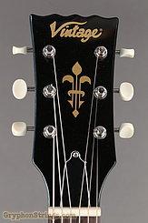 Vintage Guitar V120 Reissued Gun Hill Blue NEW Image 10