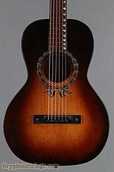 C. 1937 United Institute of Music Guitar Student Model Acoustic Lap Steel Image 10