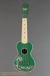 c. 1950 Harmony Ukulele Green Hawaiian Stencil Image 1