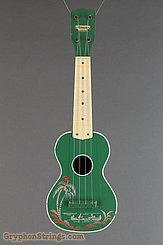 c. 1950 Harmony Ukulele Green Hawaiian Stencil Image 7