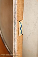 c. 1917 Orpheum Banjo No. 1 17-fret openback tenor Image 10