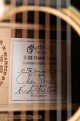 2008 Martin Guitar D-28M Merle Travis Image 15
