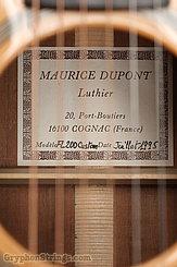 1995 Dupont Guitar FL200 Custom Image 9