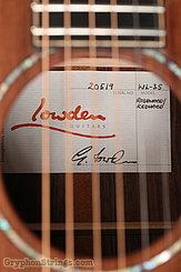 2016 Lowden Guitar WL-35 Redwood/Indian Rosewood Image 14