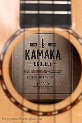 2016 Kamaka Ukulele HF-3DS 100th Anniversary Image 13
