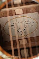 1999 Taylor Guitar K-14-C Image 14