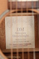 1999 Martin Guitar DM Image 14