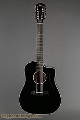 Taylor Guitar 250ce-BLK DLX NEW