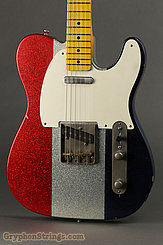 Nash Guitar T-57 Red, White and Blue Sparkle NEW