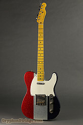 Nash Guitar T-57 Red, White and Blue Sparkle NEW Image 3