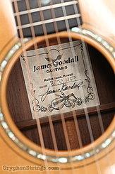 2000 Goodall Guitar RCJC Rosewood Concert Jumbo cutaway Image 14