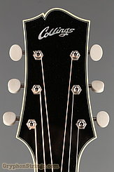 2014 Collings Guitar C10 Custom, Black top, Dog Hair Finish Image 10