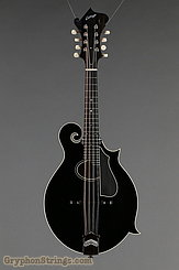 Collings Mandolin MF O, Black Gloss top, Ivoroid binding, pickguard NEW Image 7