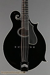 Collings Mandolin MF O, Black Gloss top, Ivoroid binding, pickguard NEW Image 8