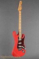 Vintage Guitar V6MFR Reissued Firenza Red NEW Image 2