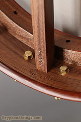 "Waldman Banjo Wood-O-Phone Walnut 12"" NEW Image 10"