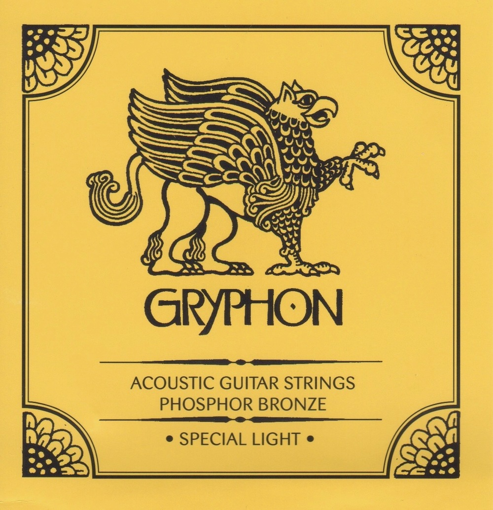 Gryphon Special Light Gauge Phosphor Bronze Acoustic Guitar Strings