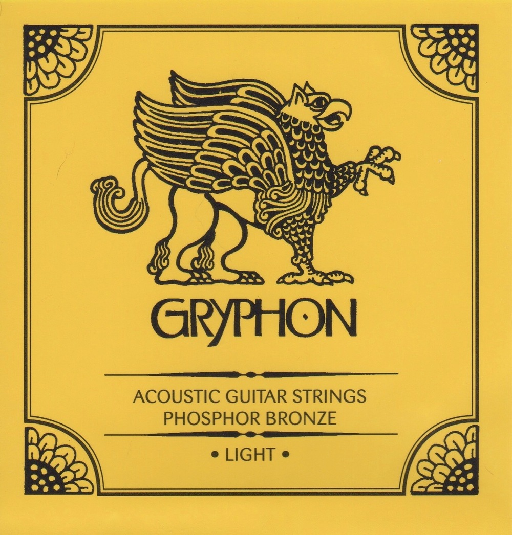 Gryphon Light Gauge Phosphor Bronze Acoustic Guitar Strings