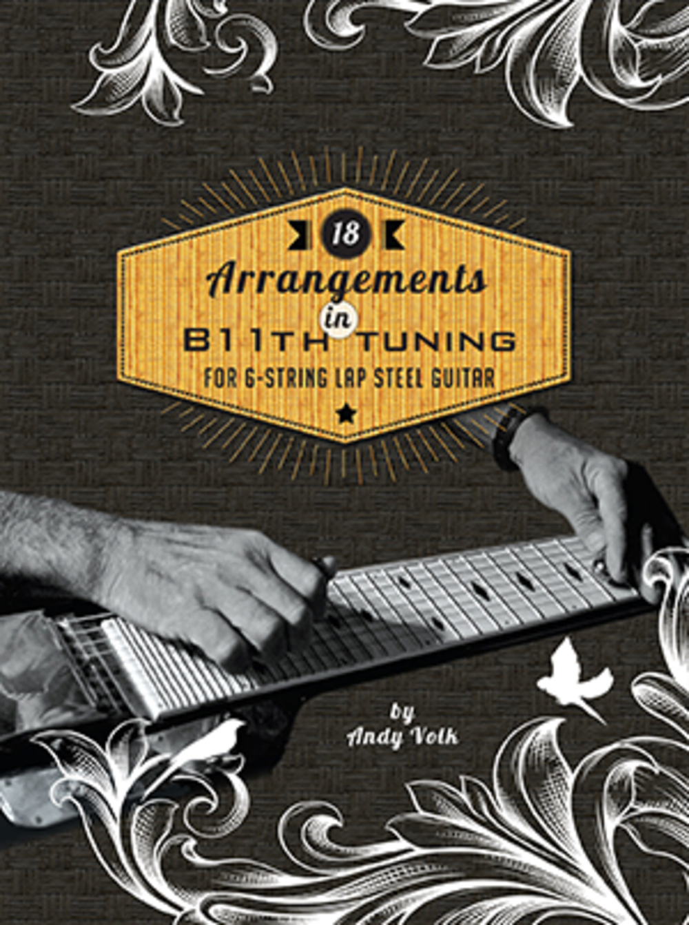 18 Arrangements in B11th Tuning for 6-String Lap Steel