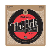 D'Addario EJ45 Silver Plated Basses Clear Trebles Normal Tension Classical Acoustic Guitar Strings