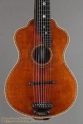 c. 1915 Bohmann Guitar Harp Guitar Image 8