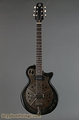 National Reso-Phonic Guitar Pioneer Black Rust  NEW