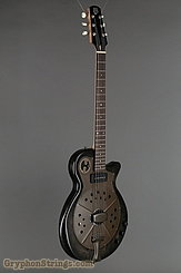 National Reso-Phonic Guitar Pioneer RP1 Black Rust  NEW Image 2