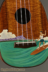 2009 Dave Talsma Ukulele Pineapple Surfer Image 6