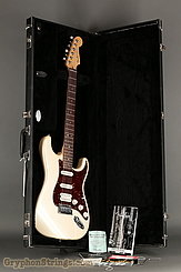 2006 Fender Guitar American Deluxe Stratocaster Pearl White Image 16