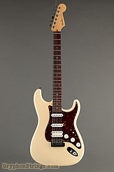 2006 Fender Guitar American Deluxe Stratocaster Pearl White Image 7