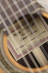 New World Guitar Estudio 650, Cedar  NEW Image 7