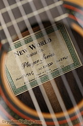 New World  Guitar Player P640, Cedar NEW Image 7