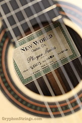 New World Guitar Player 650 Fingerstyle, Spruce NEW Image 7