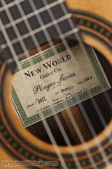 New World Guitar Player 615 Cedar NEW Image 7