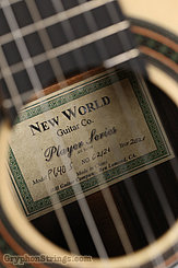 New World Guitar Player P640, Spruce top NEW Image 8