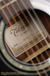 Takamine Guitar GN30CE BLK NEW Image 6