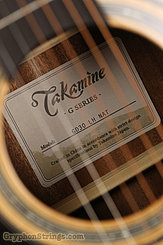 Takamine Guitar GD30-NAT, LH NEW Left Image 6
