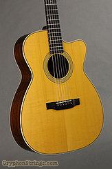 2001 Julius Borges Guitar OMC Adirondack/Indian Image 5