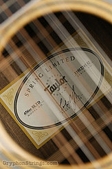 2014 Taylor Guitar 456ce SLTD Image 9