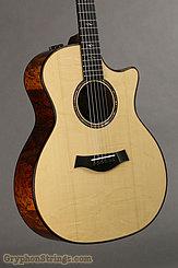 2020 Taylor Guitar Custom GA Quilted Sapele/ Bearclaw Engelmann Image 5
