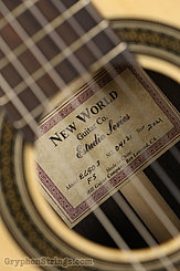 New World Guitar Estudio 650, Fingerstyle, Solid Cedar NEW Image 8