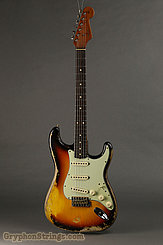 2019 Fender Guitar W20 Limited 60/63 Stratocaster Super Heavy Relic Super Faded/Aged 3TSB Image 3