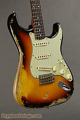 2019 Fender Guitar W20 Limited 60/63 Stratocaster Super Heavy Relic Super Faded/Aged 3TSB Image 5