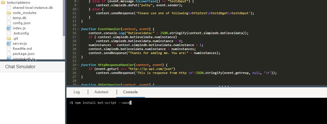 Gupshup - Bot Scripting Tool